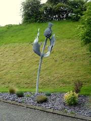 Cycleway sculpture