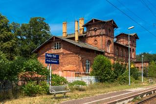 Der Bahnhof Peitz Ost