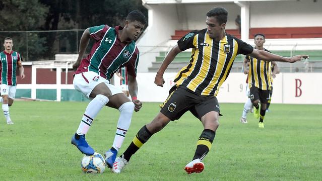 Sub-17 Fluminense x Volta Redonda 15/06/2019