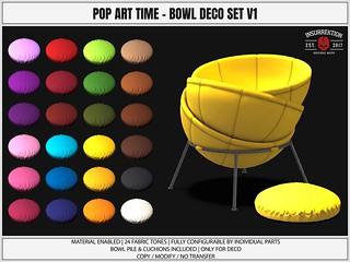 [IK] Pop Art Time - Bowl Pile