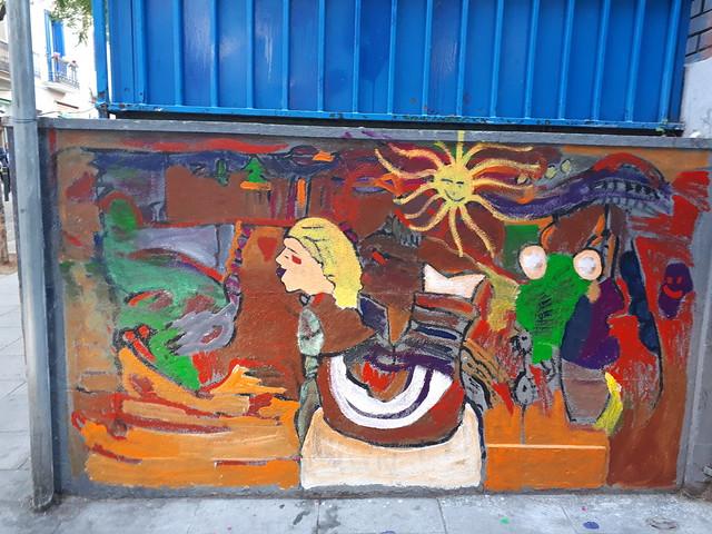 20190226_Pintem el mur exterior. Acció comunitària