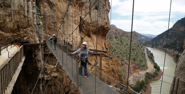 Kantiha stands-tall above the El Chorro gorge