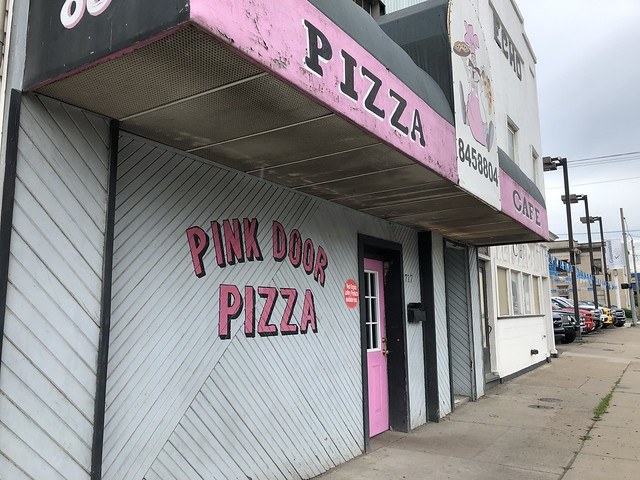 Pink door pizza