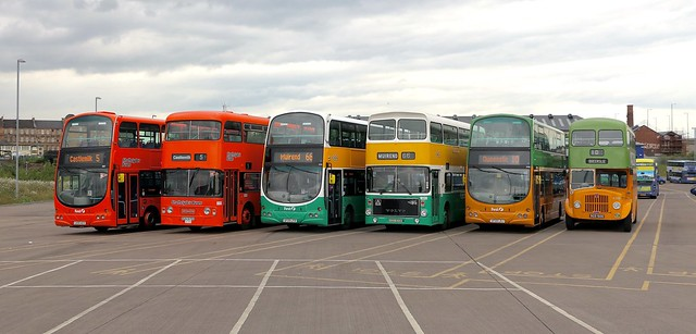 Heritage Line Up in Glasgow