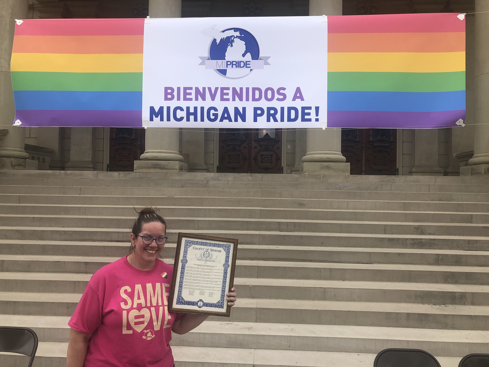 Michigan Pride Event Held at The State Capitol in Lansing