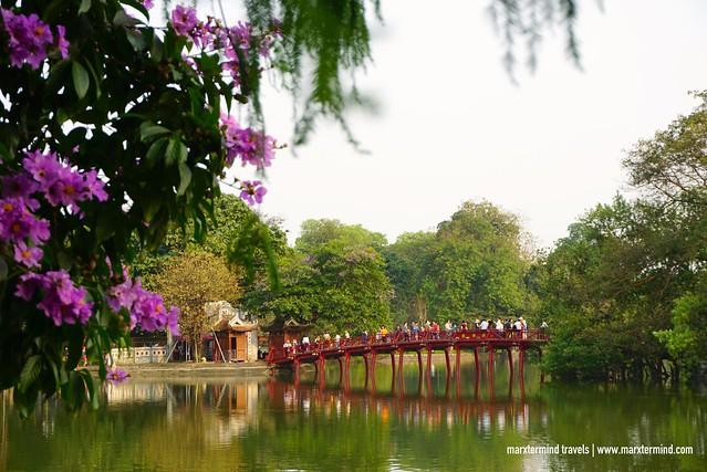 Ngoc Son Temple Hanoi