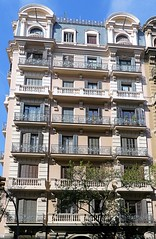 Barcelona - Muntaner 407-409 a