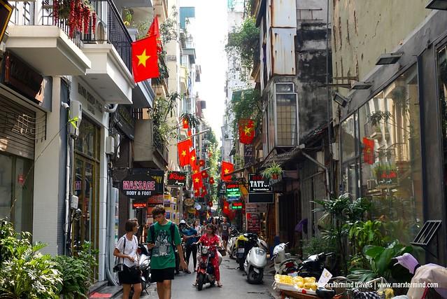 A Street in Hanoi
