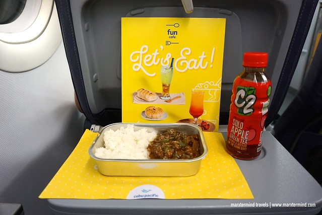 Beef Bulgogi Cebu Pacific On-board Meal