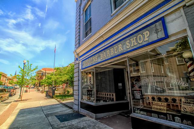 Barber shop in West Virginia