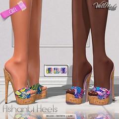 [WellMade] Ashanti Heels