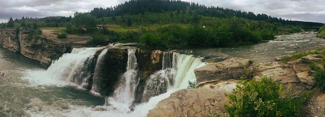 Lundbreck Falls ...