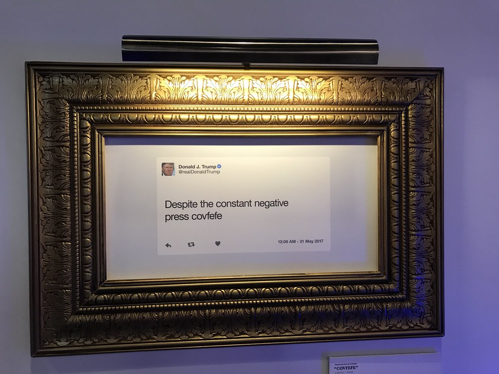framed covfefe