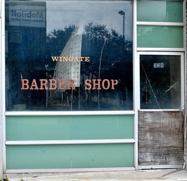 Wingate Barber Shop - Beaumont,Texas.