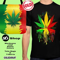 SOLD! 6 #Tote #Bags & 1 #Tshirt of #Marijuana #Rasta #Colors :herb: Thanks a bunch to the buyer(s) :herb::green_heart::herb:  ● Tote Bags :point_right:  http://lnnk.in/rkt :herb:  ● Tshirts :point_right: http://lnnk.in/rmt :herb:  Check out my Society6 #S