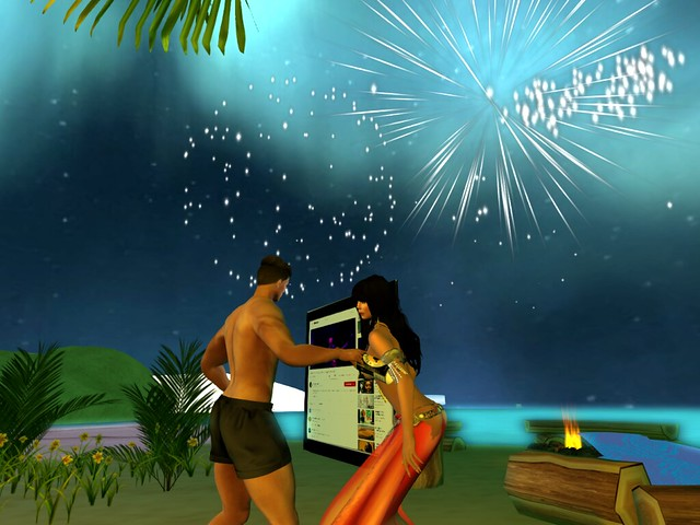 To Dance With You Under the Fireworks