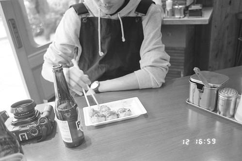 Takoyaki & Beer