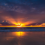 16. Juuni 2019 - 11:51 - glorious sunrise froggys beach gold coast