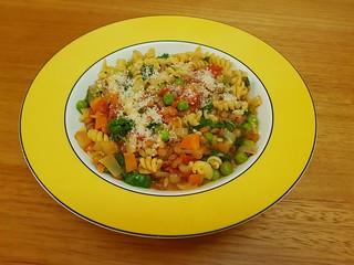 Fusilli with Lentil Sauce