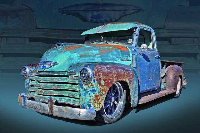 48 Custom Chevy Rat Truck
