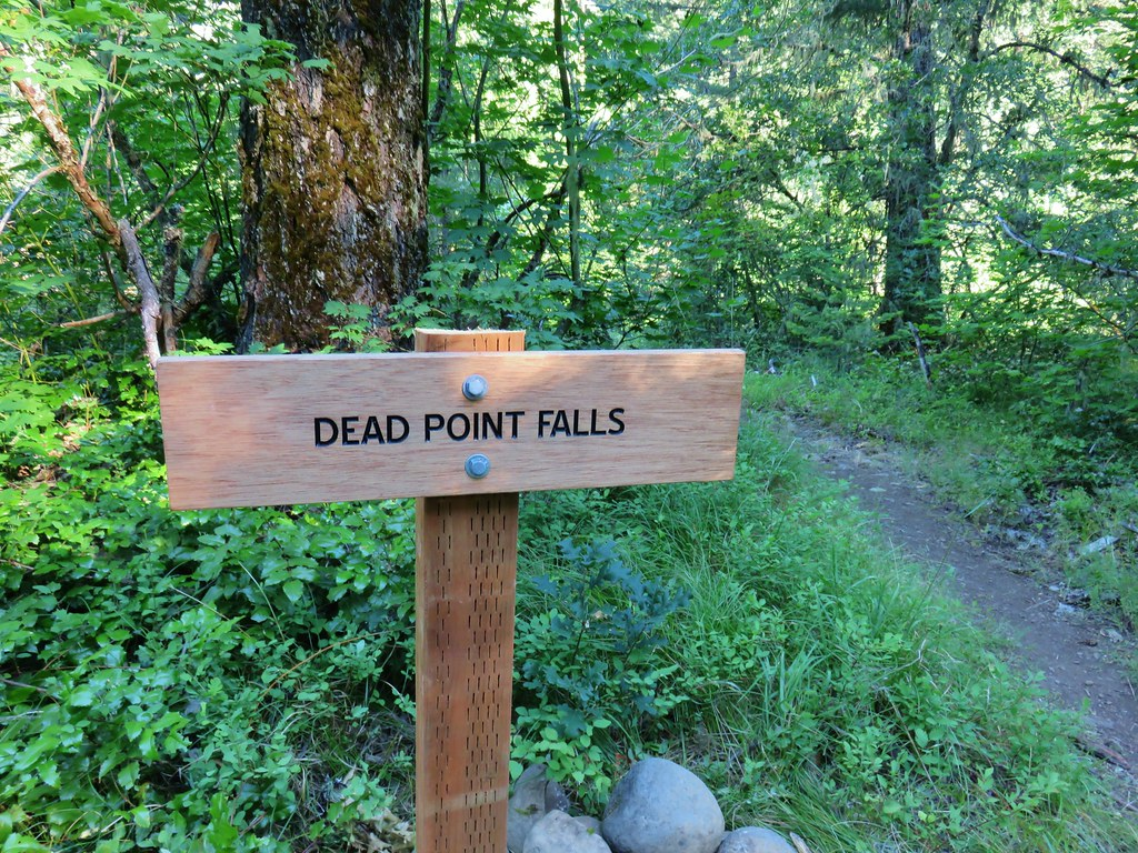 Sign for Dead Point Falls