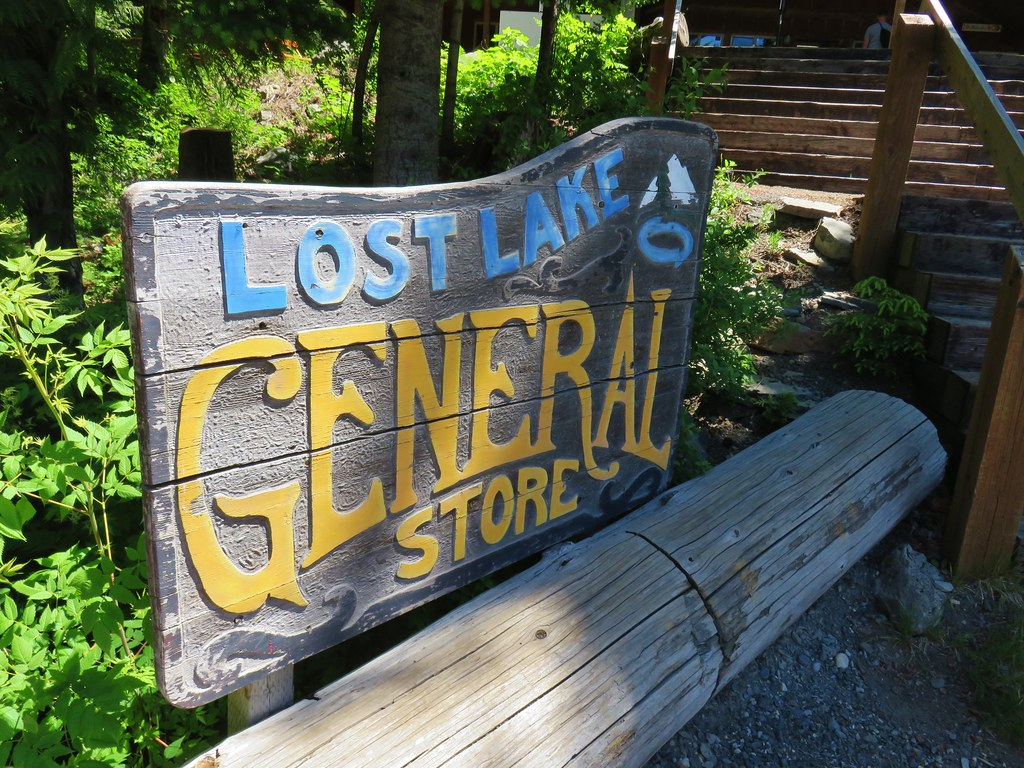 Sign for the Lost Lake General Store