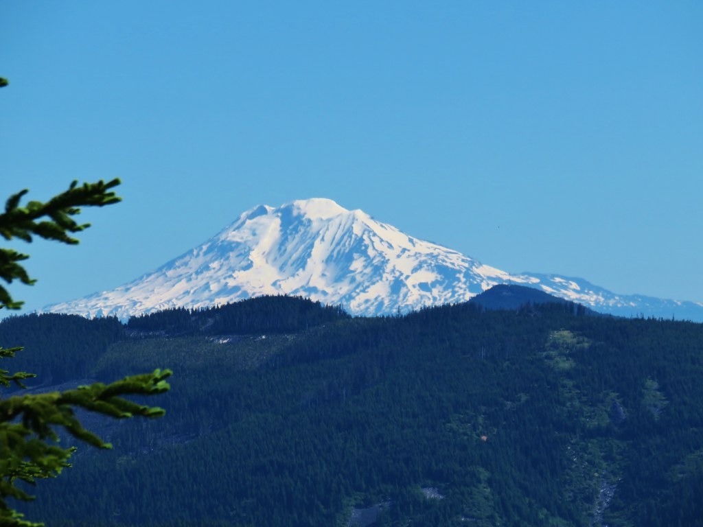 Mt. Adams from Lost Lake Butte