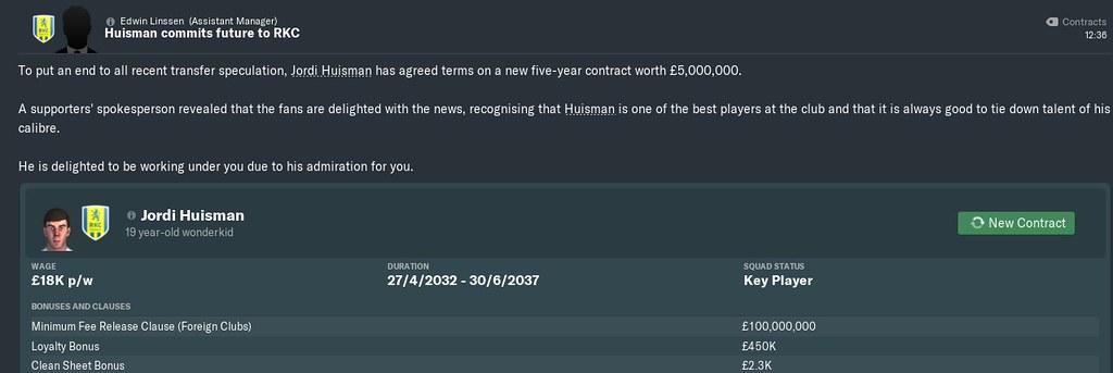 2032 super contract