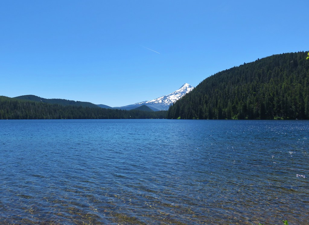 Mt. Hood across Lost Lake