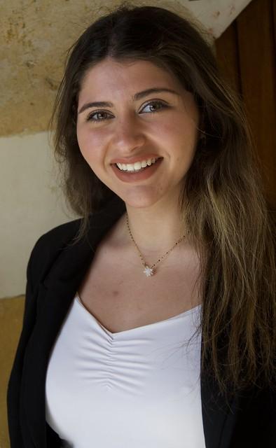 Lara Hijazi fotografiada a Sidó  Saida, Líban.