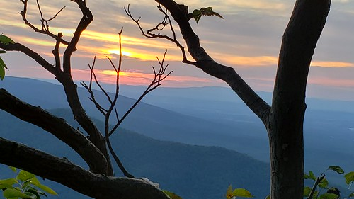 ravensroostoverlook blueridgeparkway mountains sunset restingplaceforsomeofjudsonsashes judsonharris