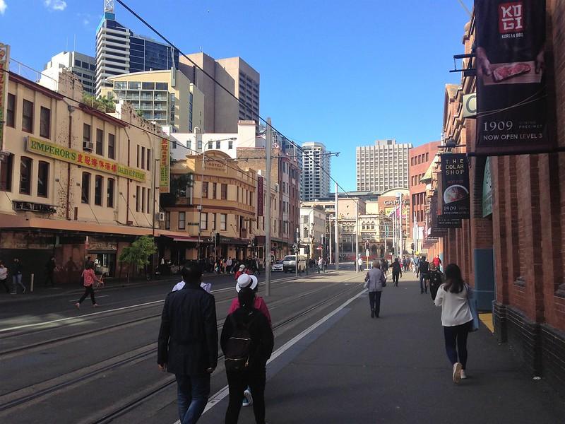 Hay Street, Sydney