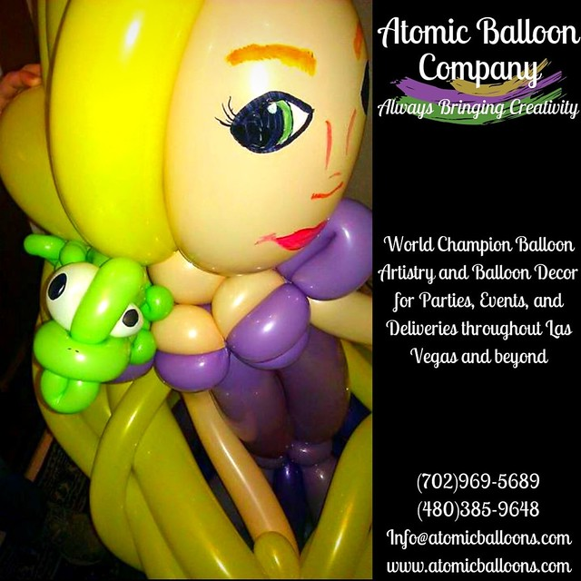 It's #saturdaynight and the crew is READY!! #princess #balloon #lasvegasballoonartist   Atomic Balloon Company brings World Champion Balloon Artistry and Balloon Decor to every party, event, and delivery throughout Las Vegas and beyond! (702)969-5689 (480