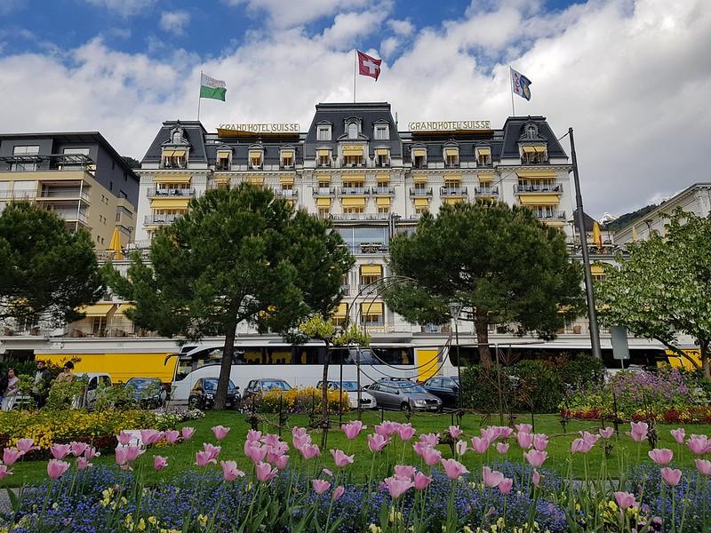 Grand Hotel Suisse, Montreux