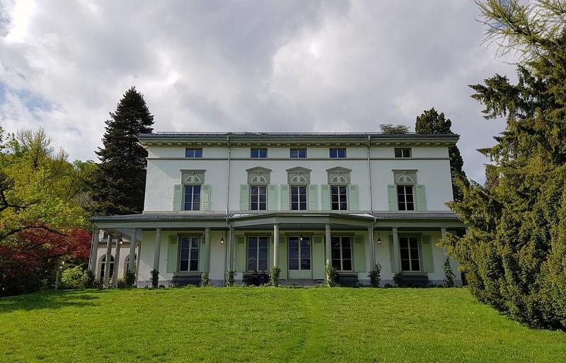 La casa de Charles Chaplin. Chaplin's World. Corsier-Sur-Vevey, Suiza.