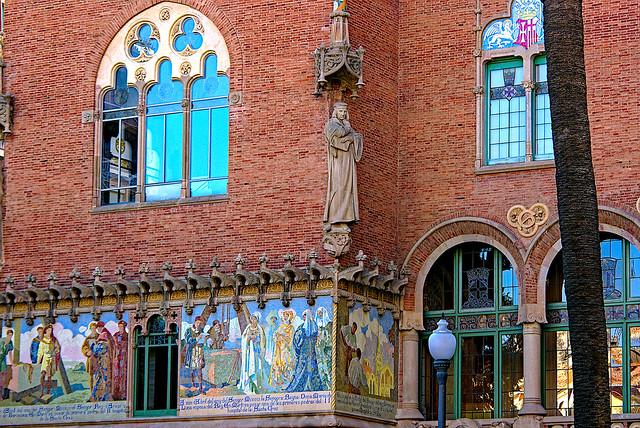 Hospital de Sant Pau - detail