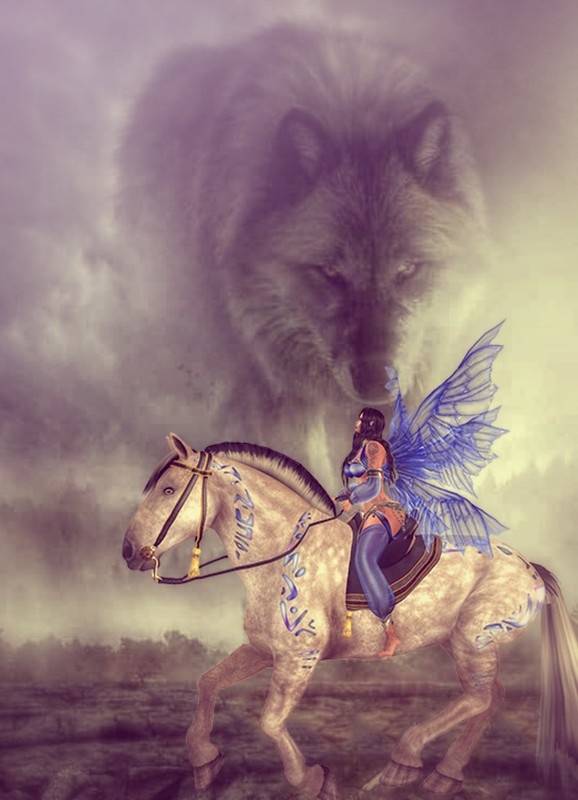 Fairy and Wolf
