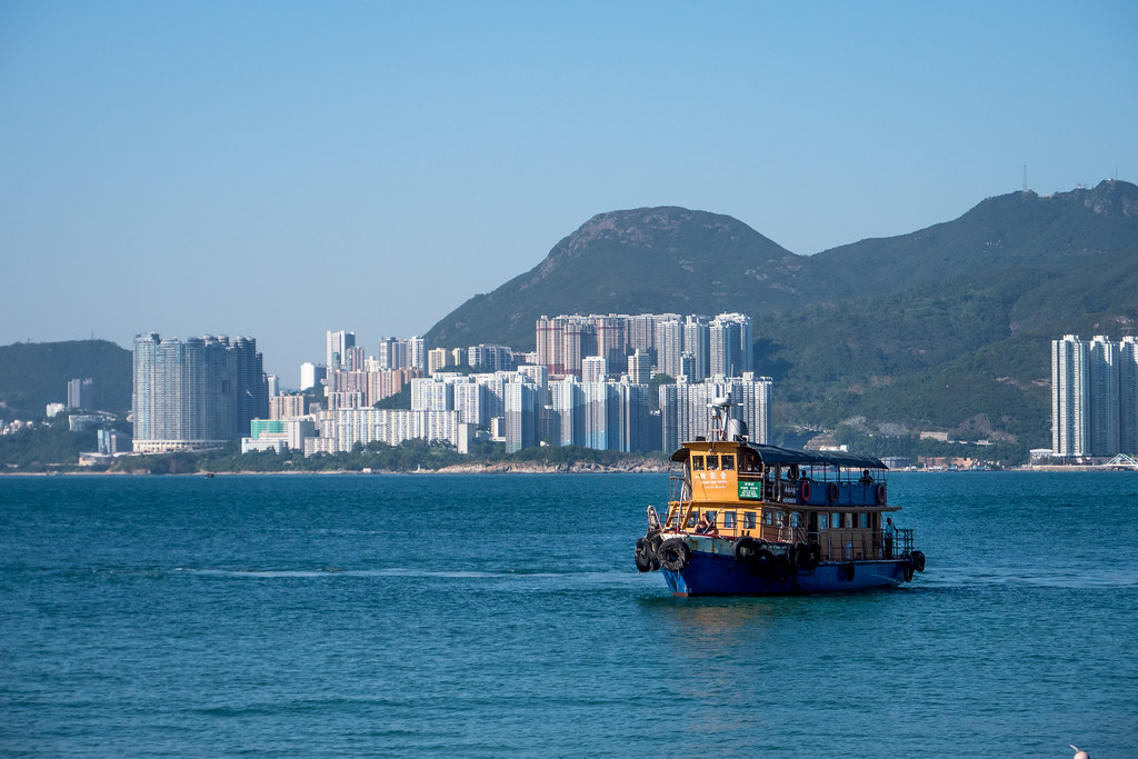 Leaving Hong Kongs fury for Lama fishers island