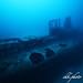 Submarine boat wreck, U-Boot Wrack Le Rubis