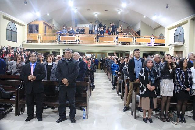Bendecida Primera Visita de  Superintendencia en la Iglesia de Curicó