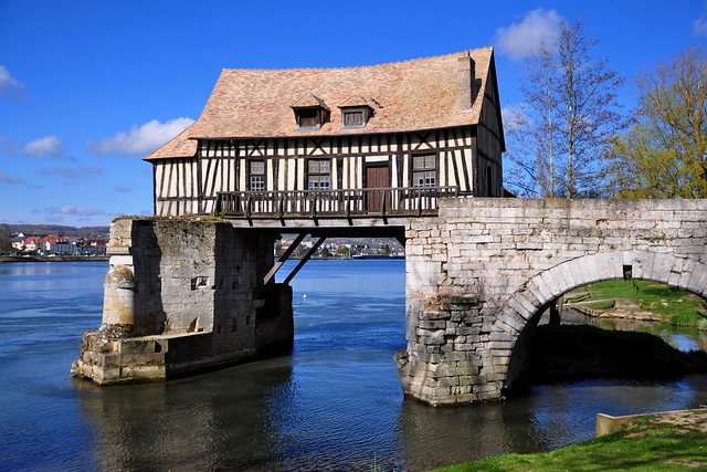 The old mill of Vernon, Normandy (Le Vieux Moulin-Vernon (Eure), Normandie) France