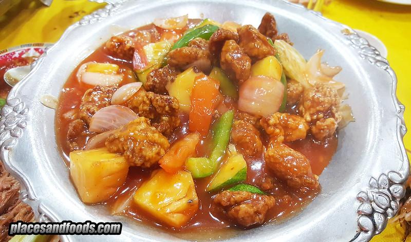 restoran new lai fatt sweet and sour pork