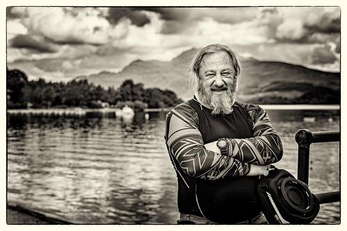 Neil at Loch Lomond