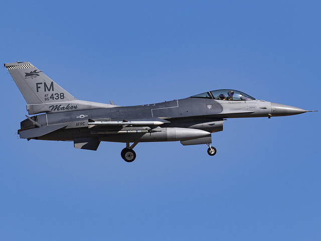 United States Air Force | General Dynamics F-16C Fighting Falcon | 85-1438