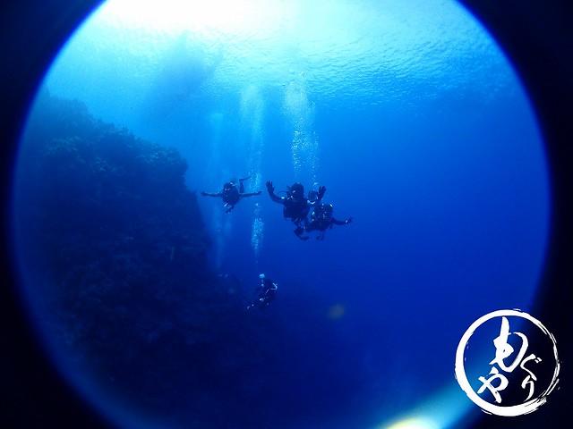 最高の青い海!!浮遊感がたまらな~い♪♪