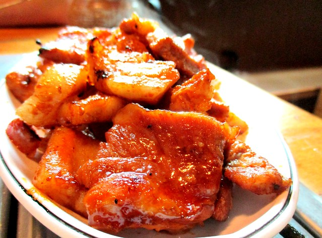 Gochujang pork belly