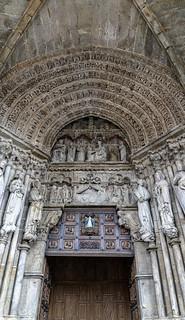 Pórtico de la Catedral de Santa María - Tuy (Pontevedra)