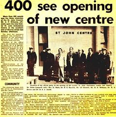 1979 0426 St John Ambulance Centre opening - Bunyip