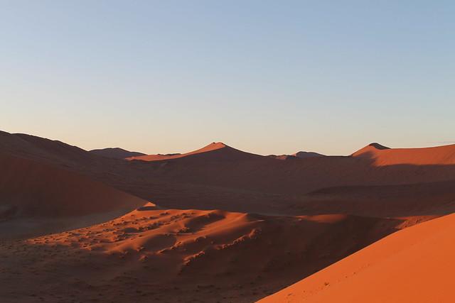 The desert...at dune 45 Namib Desert!