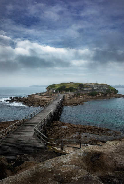 After The Morning Mist - Bare Island Fort